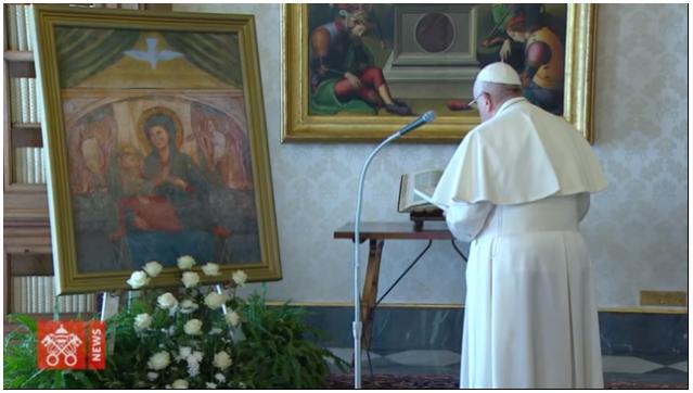 Paus Fransiskus Berdoa Mohon Perlindungan dari Wabah Corona-6