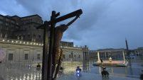 Paus Fransiskus pimpin doa adorasi 27032020