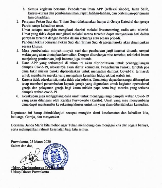 Surat Edaran Uskup Pwt 25Maret-hlm2